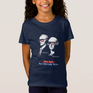 T-Shirt Alexander Hamilton, George Washington - trop cool