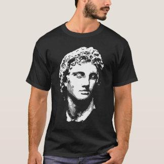 T-shirt Alexandre la grande statue