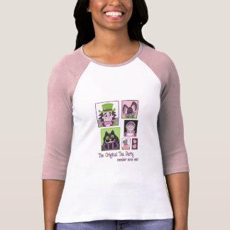 T-shirt Alice au thé du pays des merveilles