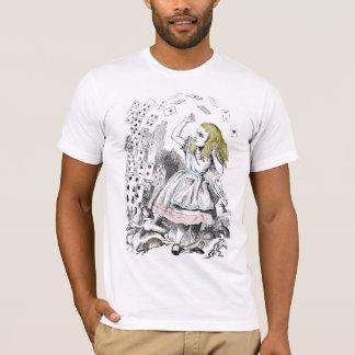 T-shirt Alice dans la plate-forme du pays des merveilles