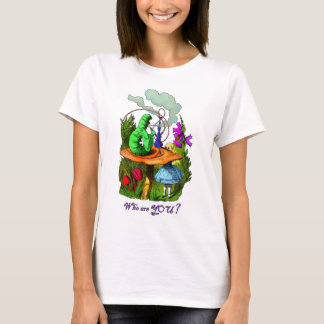 T-shirt Alice et Caterpillar