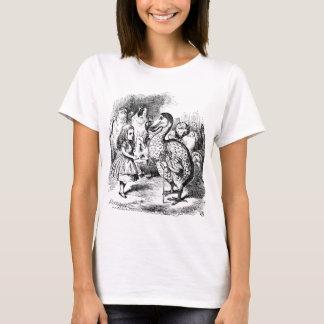 T-shirt Alice et la dronte