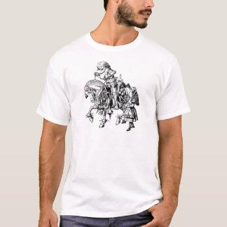 T-shirt Alice et le chevalier blanc