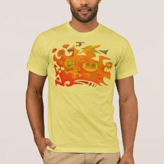 T-shirt Alien d'arcade