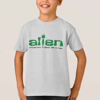 T-shirt Alien (échoué ici 'jusqu'au ciel m'appelle à la