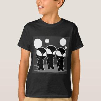 T-shirt Aliens intrigants mignons