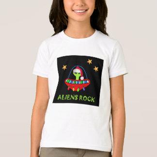 T-shirt aliens ROCKin dans un Joyeux Noël !