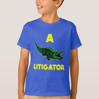 T-shirt aligator