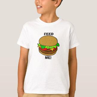 T-shirt Alimentez-moi ! : Hamburger T