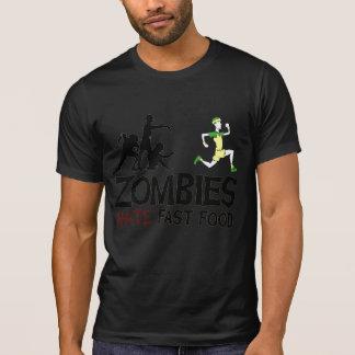 T-shirt Aliments de préparation rapide de haine de zombi