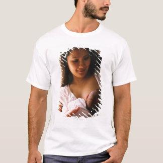 T-shirt Allaitement de mère nouveau-né