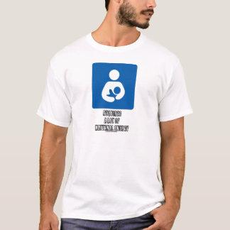 T-shirt (Allaiter) exige beaucoup d'énergie maternelle