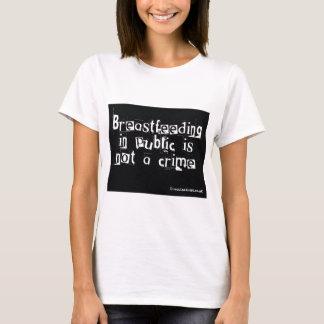 T-shirt Allaiter l'en public n'est pas un crime
