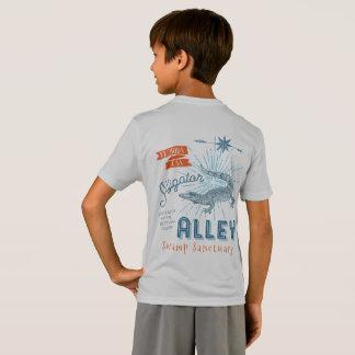 T-Shirt Allée de lutte d'alligator de champion d'alligator
