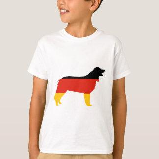 T-shirt Allemagne-drapeau silo.png de hovawart