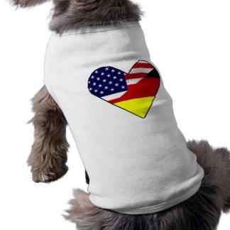 T-shirt Allemand - Américain