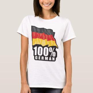 T-shirt Allemand de 100%