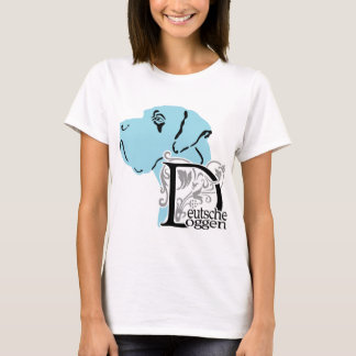 T-shirt Allemand : Dogge