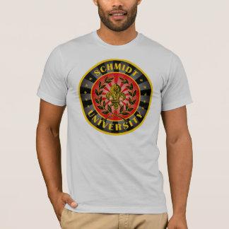T-shirt Allemand d'université de Schmidt