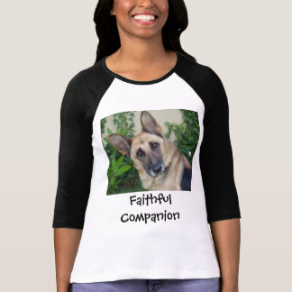 T-shirt Allemand Shephard, compagnon fidèle
