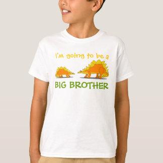 T-shirt Aller être dinosaures mignons de Stegosaurus de