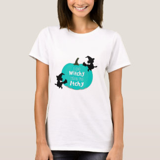 T-shirt Allergies alimentaires turquoises Halloween