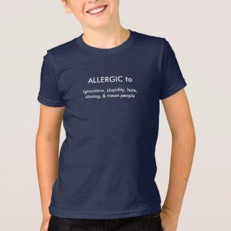 T-shirt Allergique à
