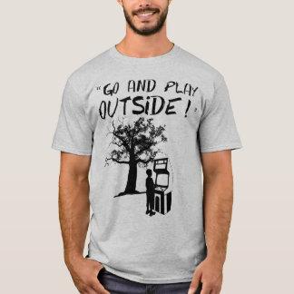T-shirt Allez et jouez dehors !