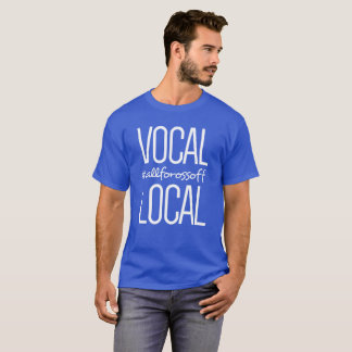 T-shirt #AllForOssoff local et vocal -- BLANC