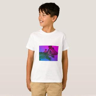T-shirt Alligator de mardi gras avec des écrevisses