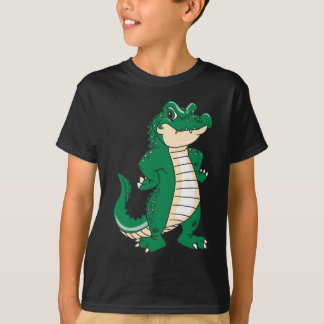 T-shirt Alligator fier
