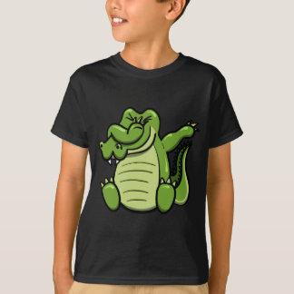 T-shirt Alligator tamponnant d'animaux