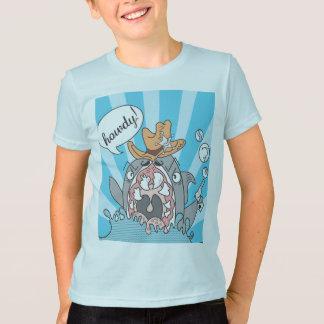 T-shirt Allo chemise de requin