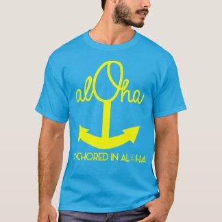 T-shirt Aloha chemise d'ancre