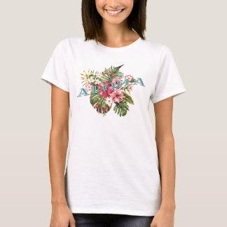 T-shirt Aloha floral tropical