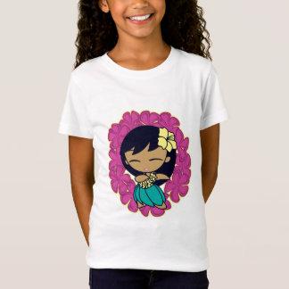 """T-Shirt """"Aloha pièce en t de filles de miels"""""""