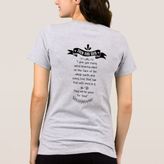 T-shirt Alors Dieu a dit