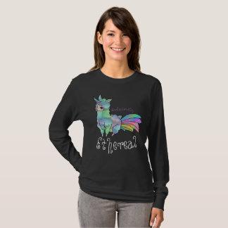 T-shirt Alpaga de licorne éthéré