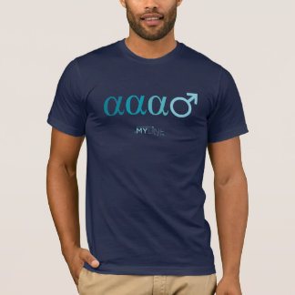 T-shirt alpha alpha mâle alpha