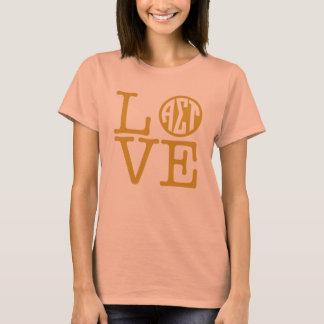 T-shirt Alpha amour de Tau de sigma