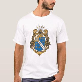 T-shirt Alpha couleur d'Omega de phi - crête