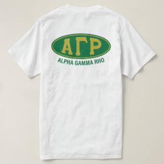 T-shirt Alpha cru gamma du Rho |