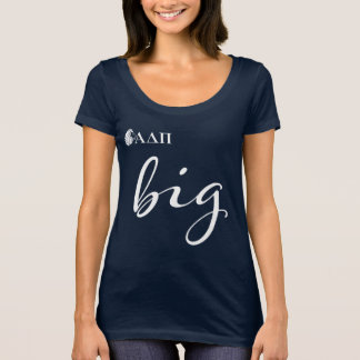 T-shirt Alpha grand manuscrit du delta pi |