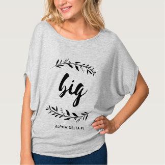 T-shirt Alpha grande guirlande du delta pi |