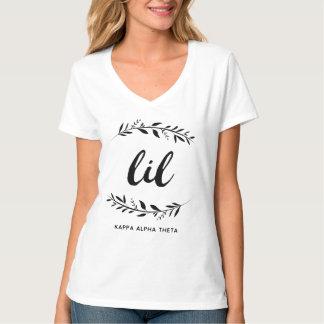 T-shirt Alpha guirlande du thêta | Lil de Kappa