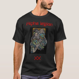 T-shirt Alpha legion