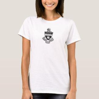 T-shirt Alpha manteau de thêta de Kappa des bras : Noir et