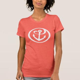 T-shirt Alpha marque 2 d'ancre de Tau de sigma
