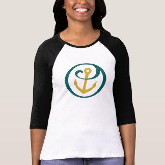 T-shirt Alpha marque d'ancre de Tau de sigma