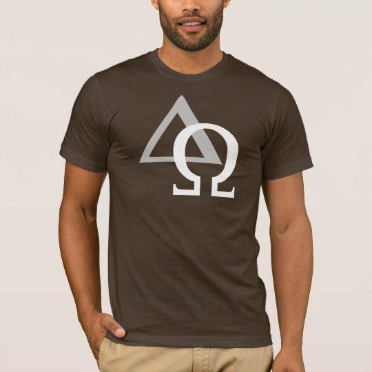T-shirt Alpha & Oméga 3 Gris Blanc TRANS PNG
